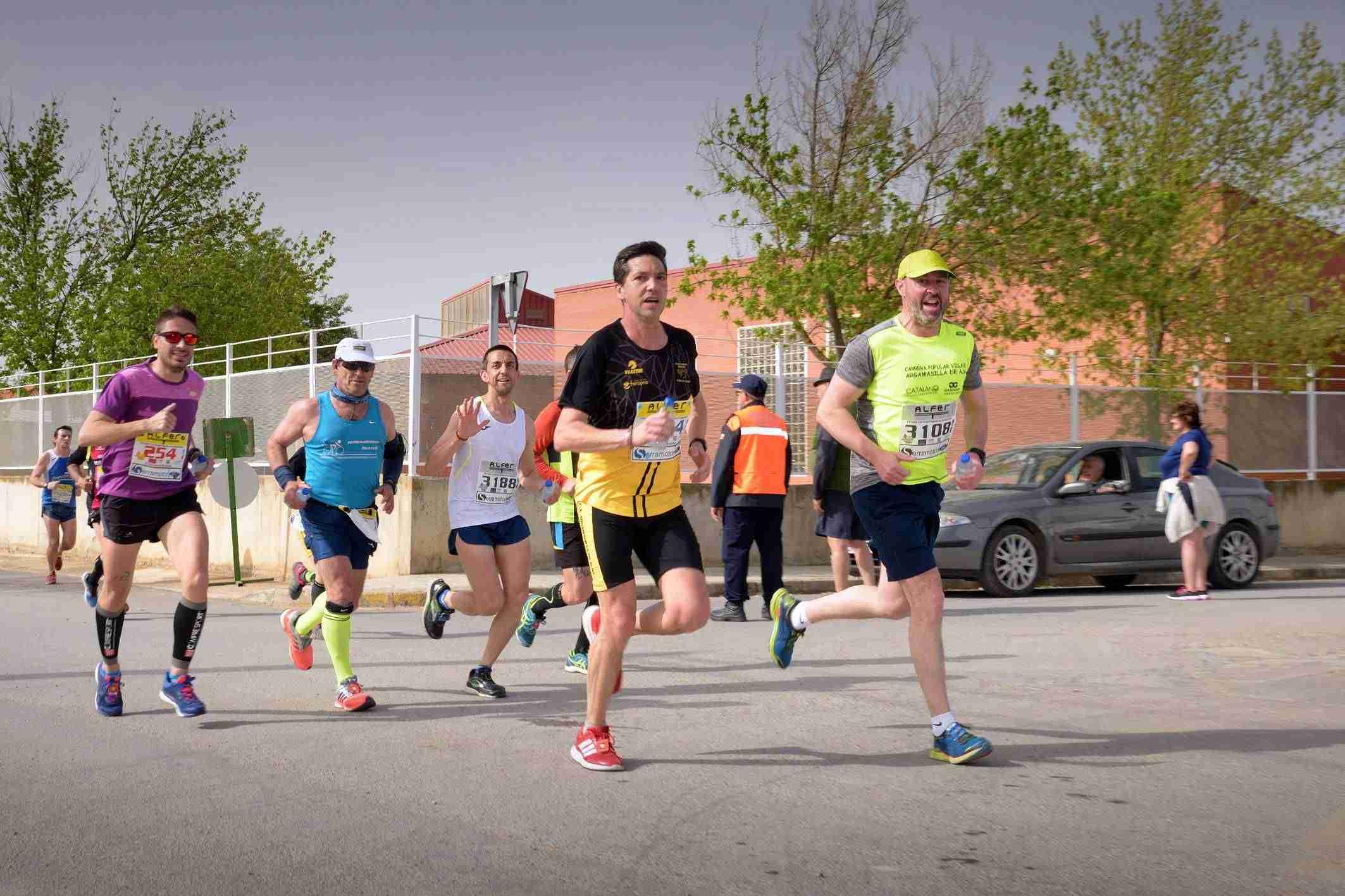 Alta participación en la carrera popular de Argamasilla de Alba 10