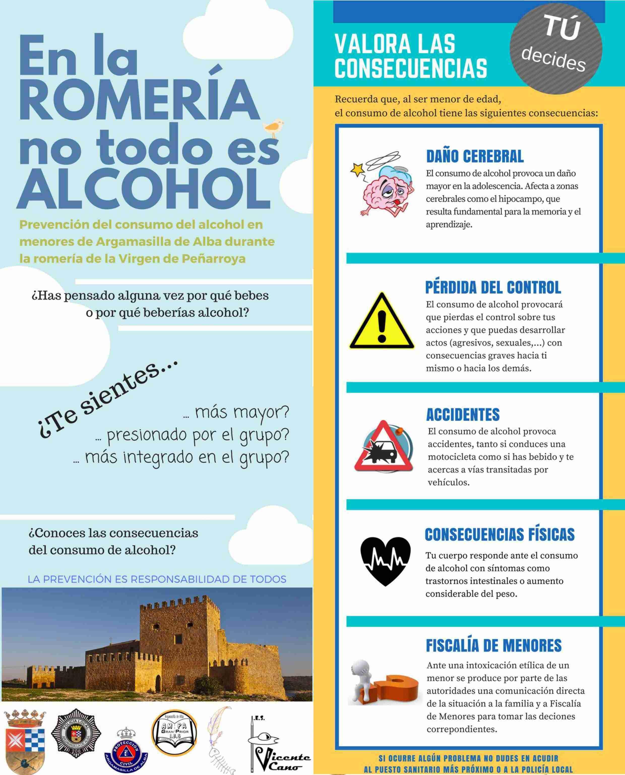 """El IES Vicente Cano pone en marcha la campaña """"En la romería no todo es alcohol"""" 7"""