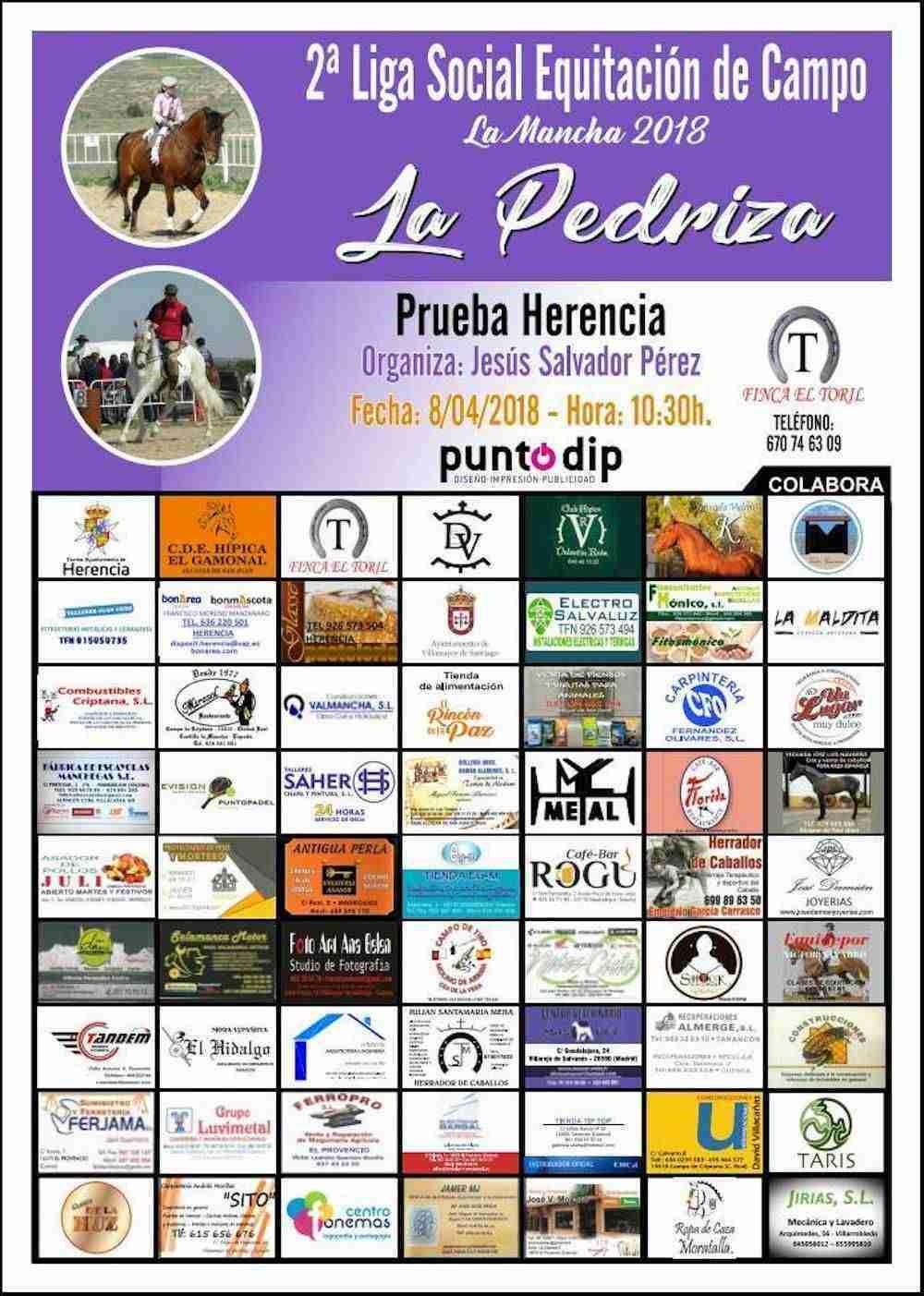 2ª Liga Social Equitación de Campo en Herencia 3