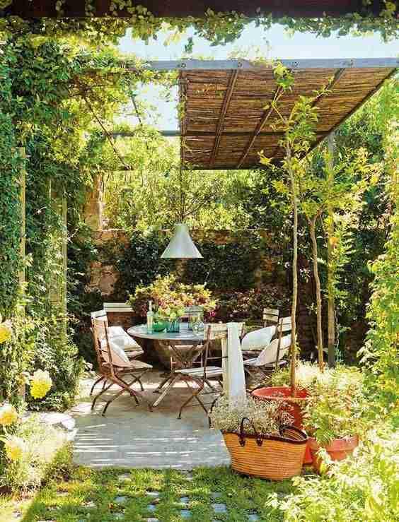 decorar el patio IX