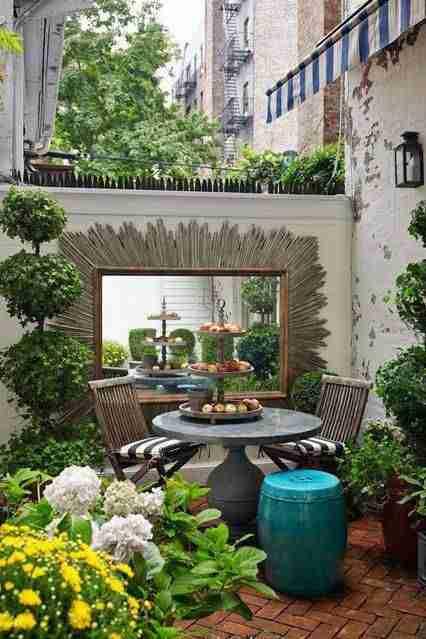 decorar el patio VIII