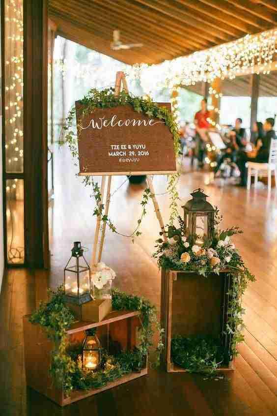 decoracion de boda II