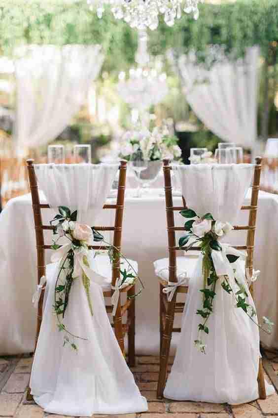 decoracion de boda X
