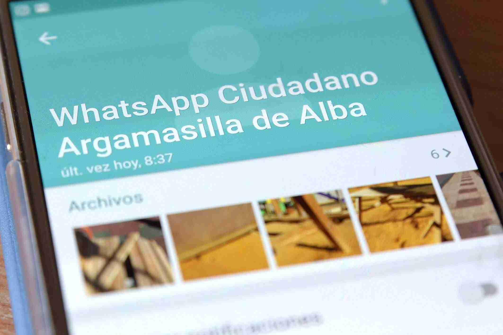 El WhatsApp Ciudadano de Argamasilla de Alba lleva resuelta más de 200 incidencias desde su implantación 1