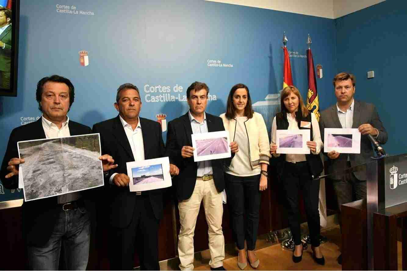 El alcalde de El Torno vuelve a reclamar el arreglo de la carretera CM-403 1