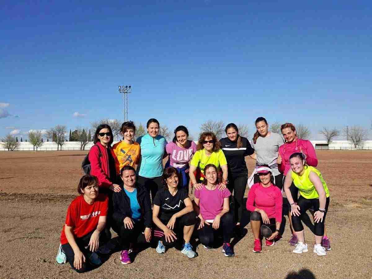 Buena acogida a la Escuela Femenina de Running  de Torralba de Calatrava 1