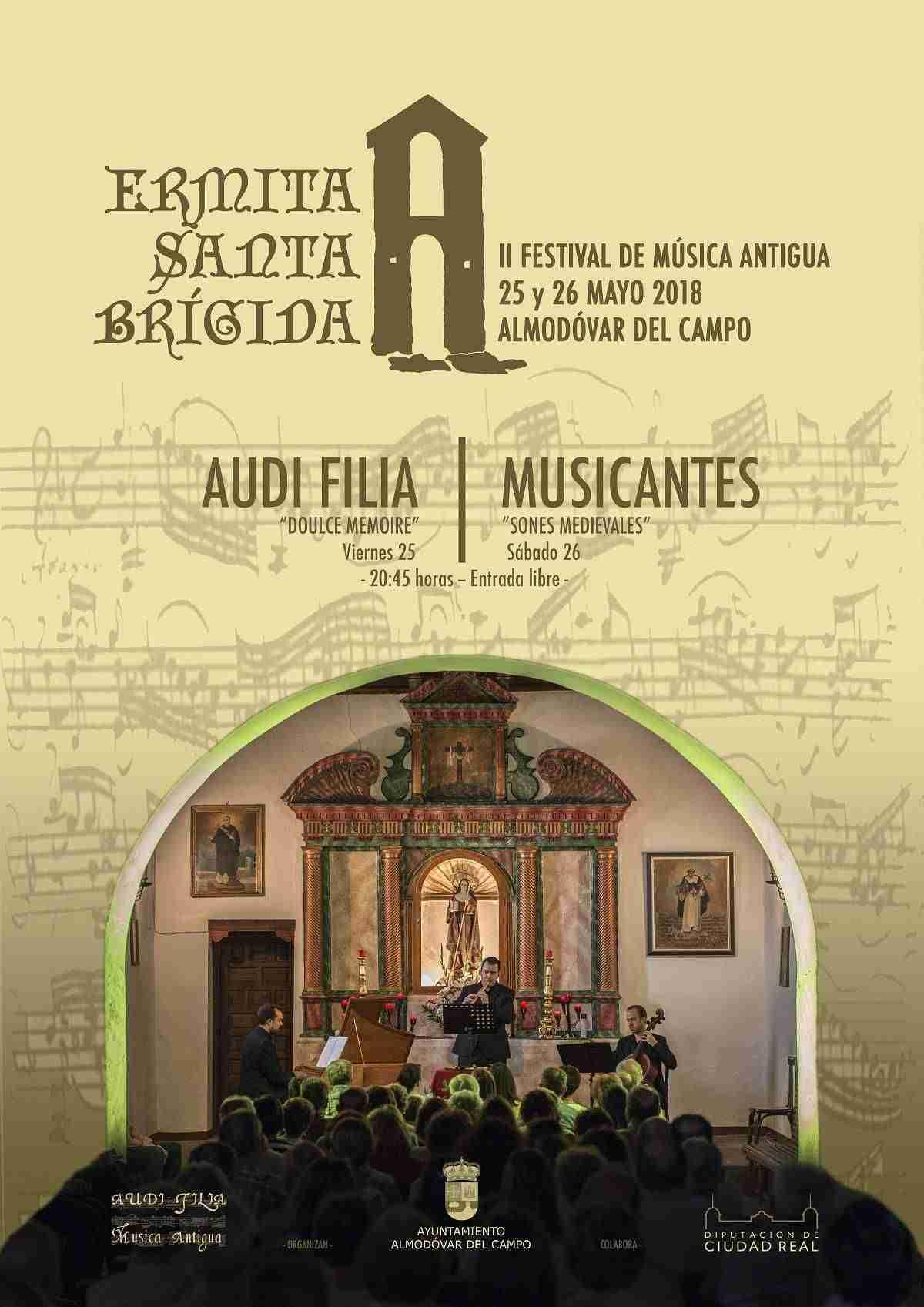 II Festival Música Antigua Santa Brígida en Almodóvar del Campo 1