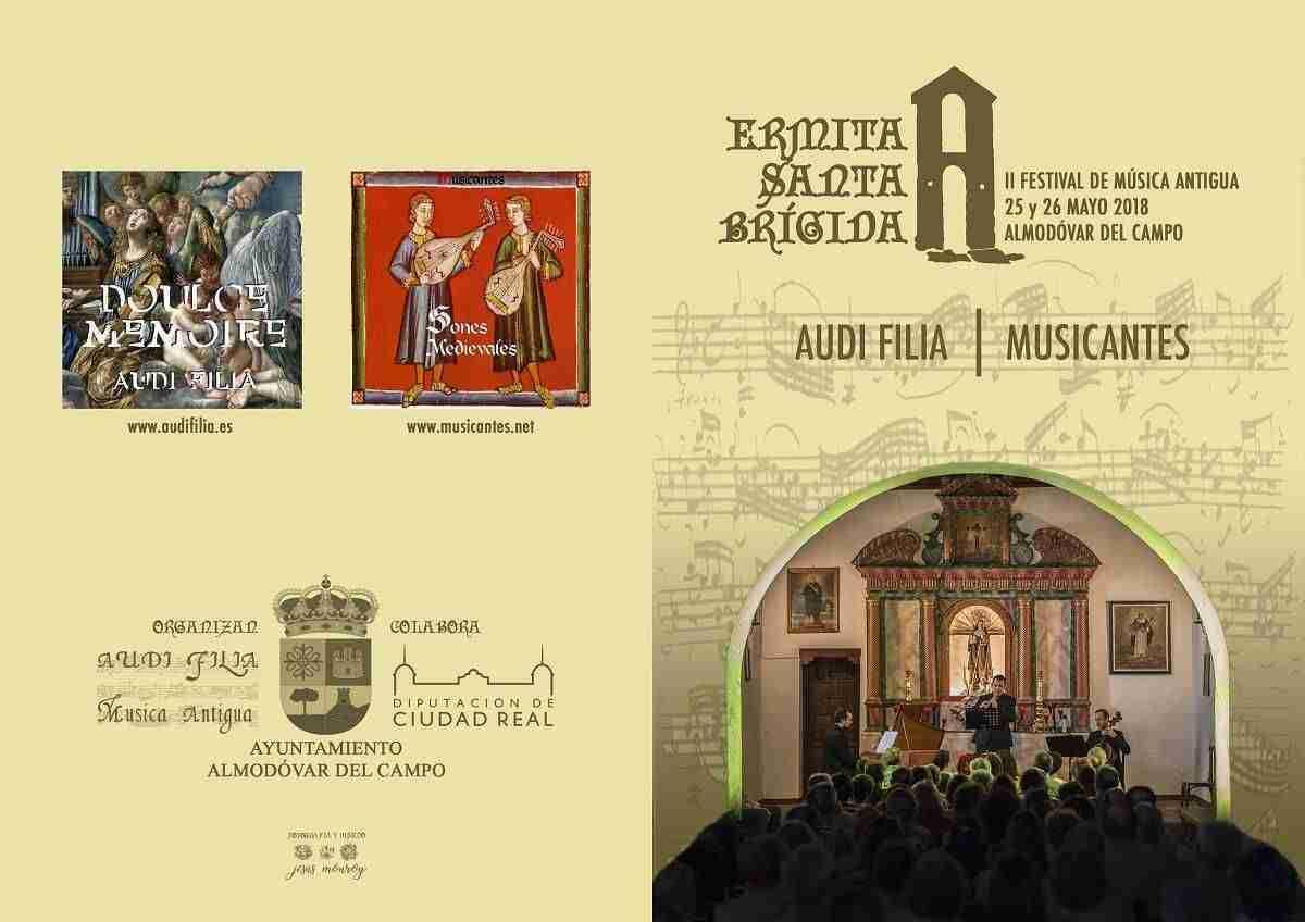 II Festival Música Antigua Santa Brígida en Almodóvar del Campo 2