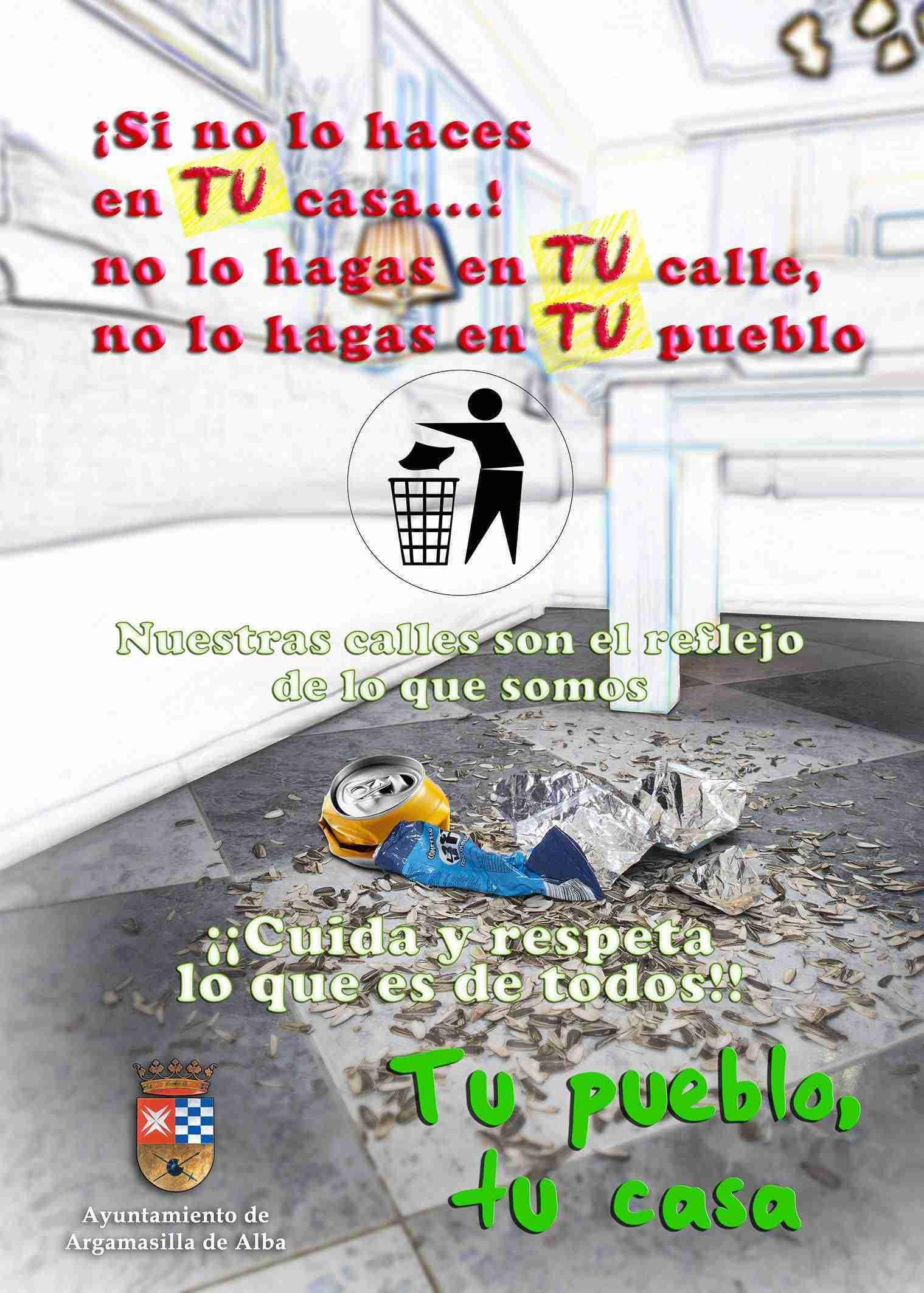 Argamasilla de Alba lanza una nueva campaña de limpieza en los espacios públicos 1
