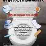 vertido de toallitas en el inodoro 1 150x150 - Campaña contra el vertido de toallitas en el inodoro desde Argamasilla de Alba