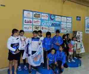 Éxito del I Acuatlón organizado por el Club Natación Quinaqua junto a la Federación regional 9