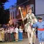 El Caballero de la Triste Figura sale victorioso de la aventura de los leones en El Quijote en la Calle 6