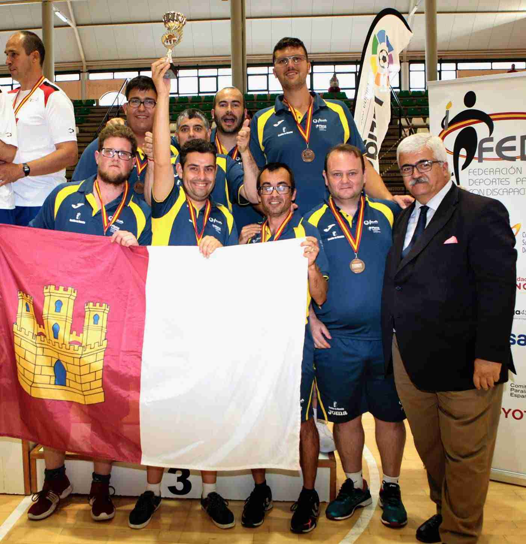 La selección castellanomanchega regresa del campeonato de españa de selecciones autonómicas 2