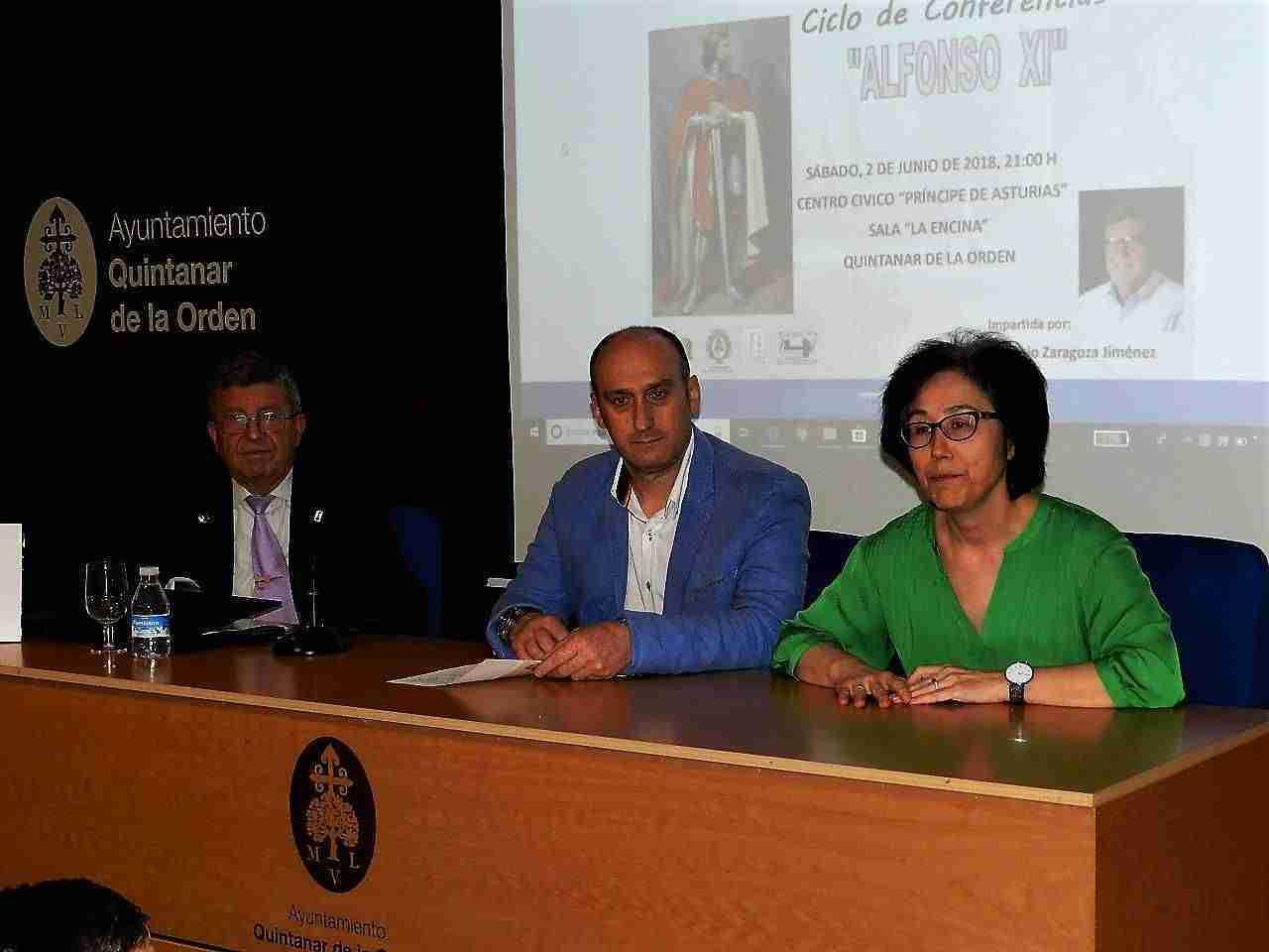 """""""Rey Alfonso XI"""", segunda conferencia del ciclo 700 Aniversario de Quintanar de la Orden 1"""