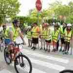 Los escolares de Argamasilla ponen en práctica sus conocimientos sobre circulación vial 2