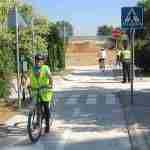 Los escolares de Argamasilla ponen en práctica sus conocimientos sobre circulación vial 3