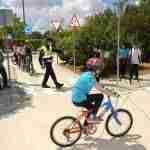 Los escolares de Argamasilla ponen en práctica sus conocimientos sobre circulación vial 4