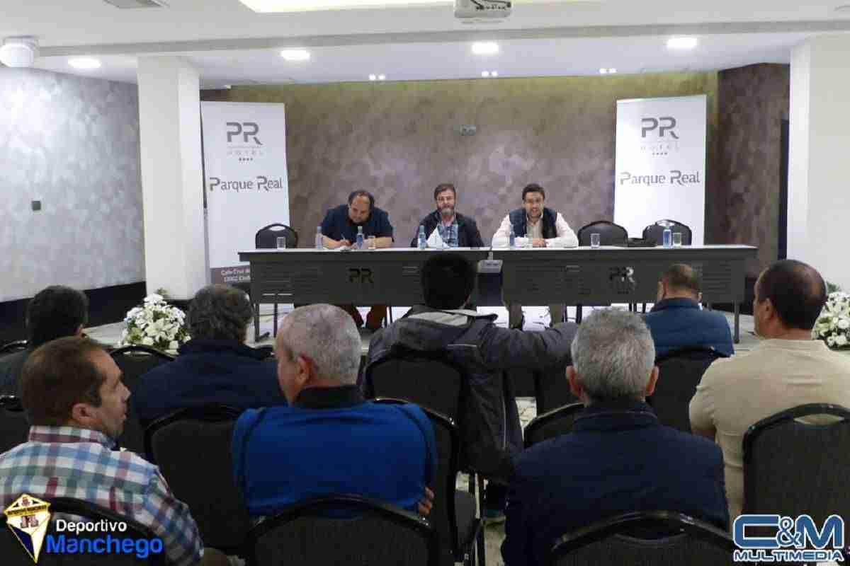 Celebrada la Asamblea General de Socios del Deportivo Manchego 1