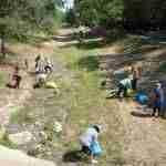 Decenas de voluntarios participan en la limpieza del río Guadiana en Argamasilla de Alba 2