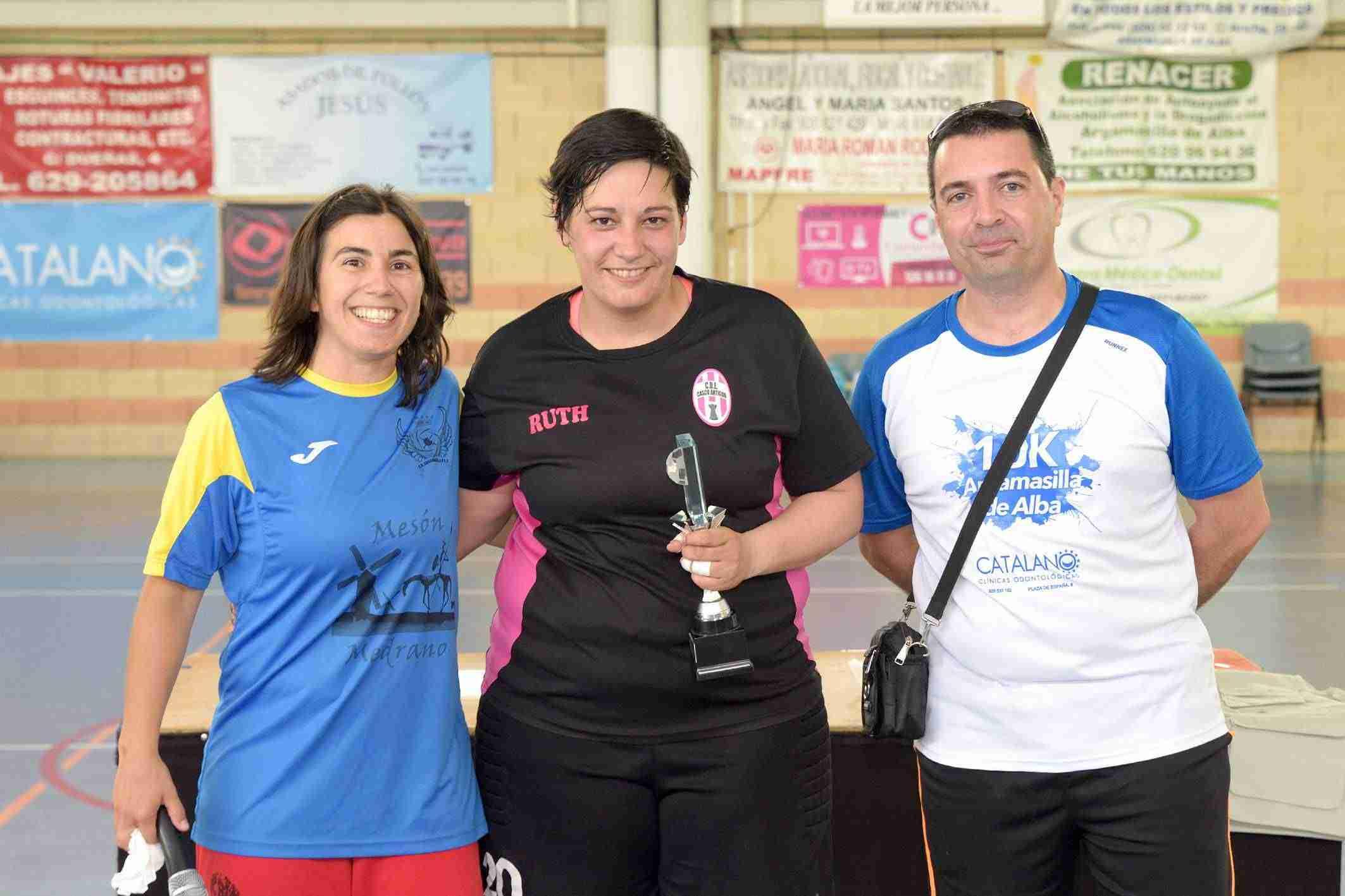 Igualdad en el VII Torneo de Fútbol Sala Femenino de Argamasilla de Alba 1