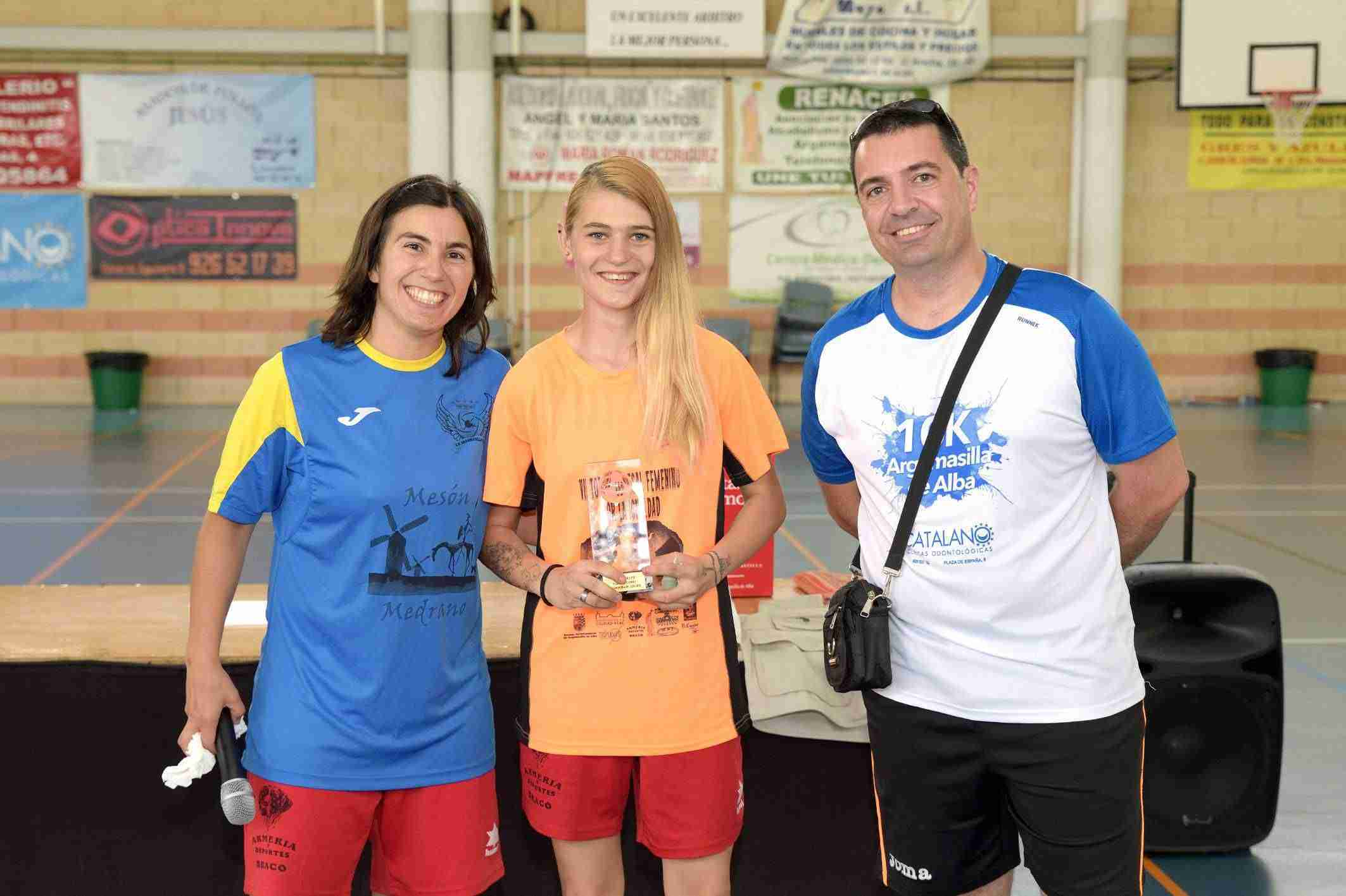 Igualdad en el VII Torneo de Fútbol Sala Femenino de Argamasilla de Alba 2