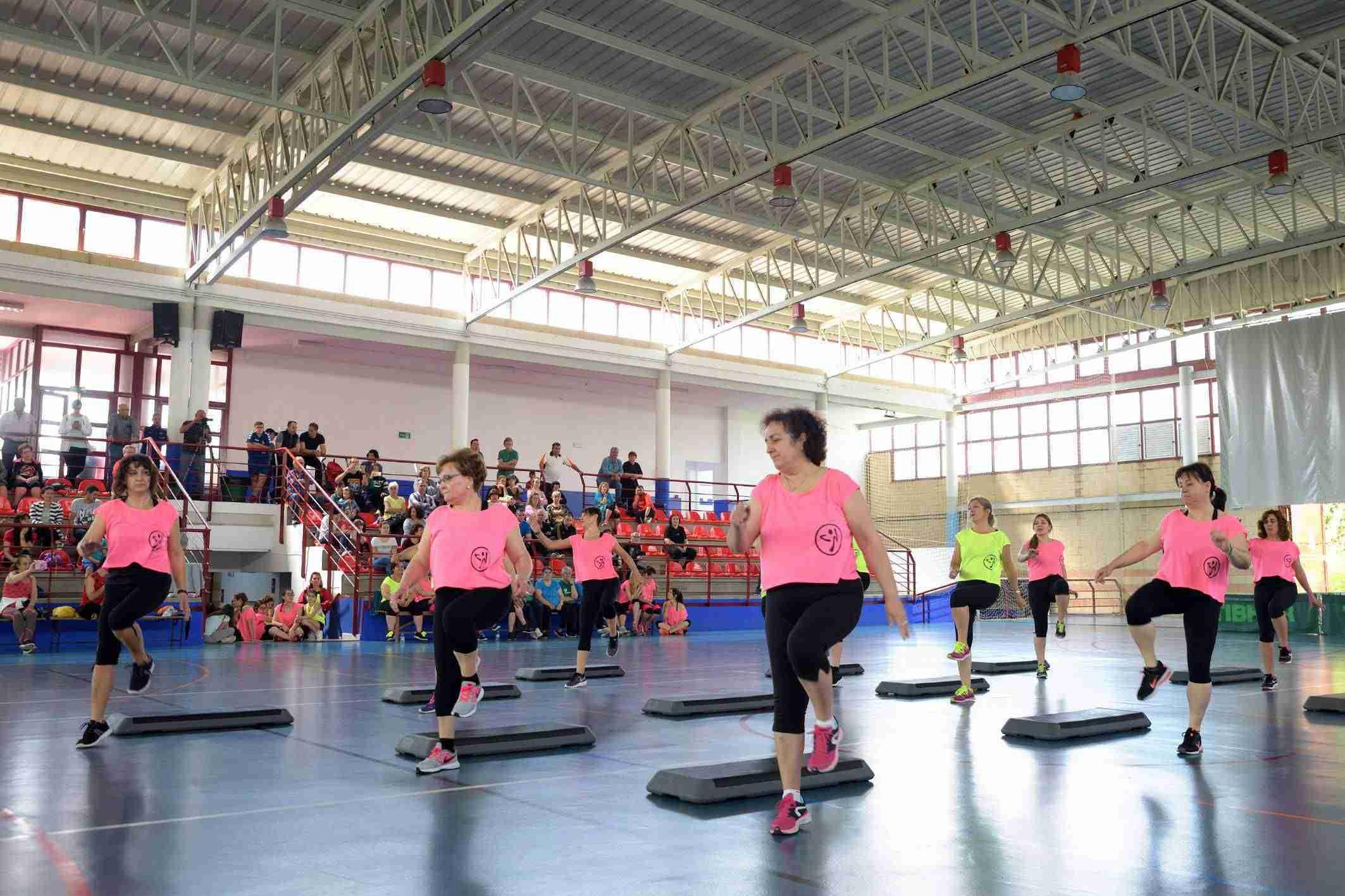 Clausuradas las EE. DD. Municipales de fitness 2017-18 con una gran exhibición 1