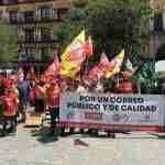 La plantilla de Correos se moviliza para exigir el fin de la precariedad laboral en la empresa 4