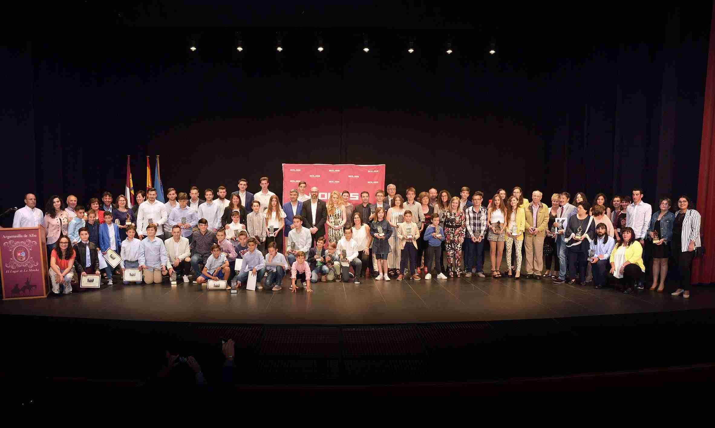 Argamasilla de Alba celebró su XII Gala del deporte reivindicando el deporte femenino 3