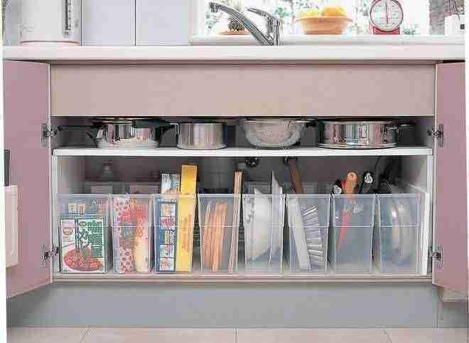 ordenar la cocina VII