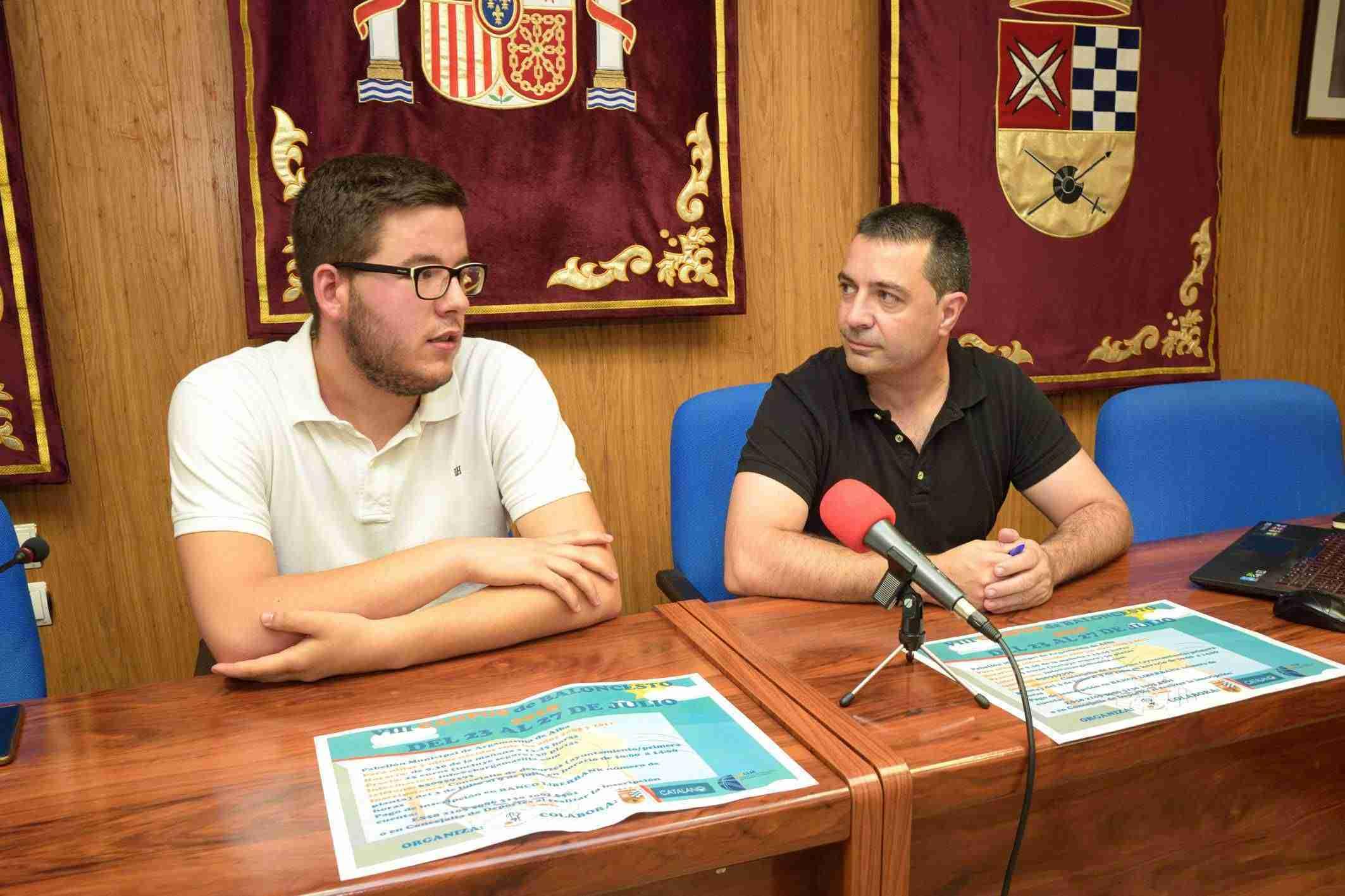 El CBA y el Ayuntamiento presentan el VIII Campus de Baloncesto de Argamasilla de Alba 1