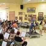 """20180701 ensayo joval adealba 150x150 - """"Clasiqueando"""" cierra el curso 2017-18 en la Escuela Municipal de Música de Argamasilla de Alba"""