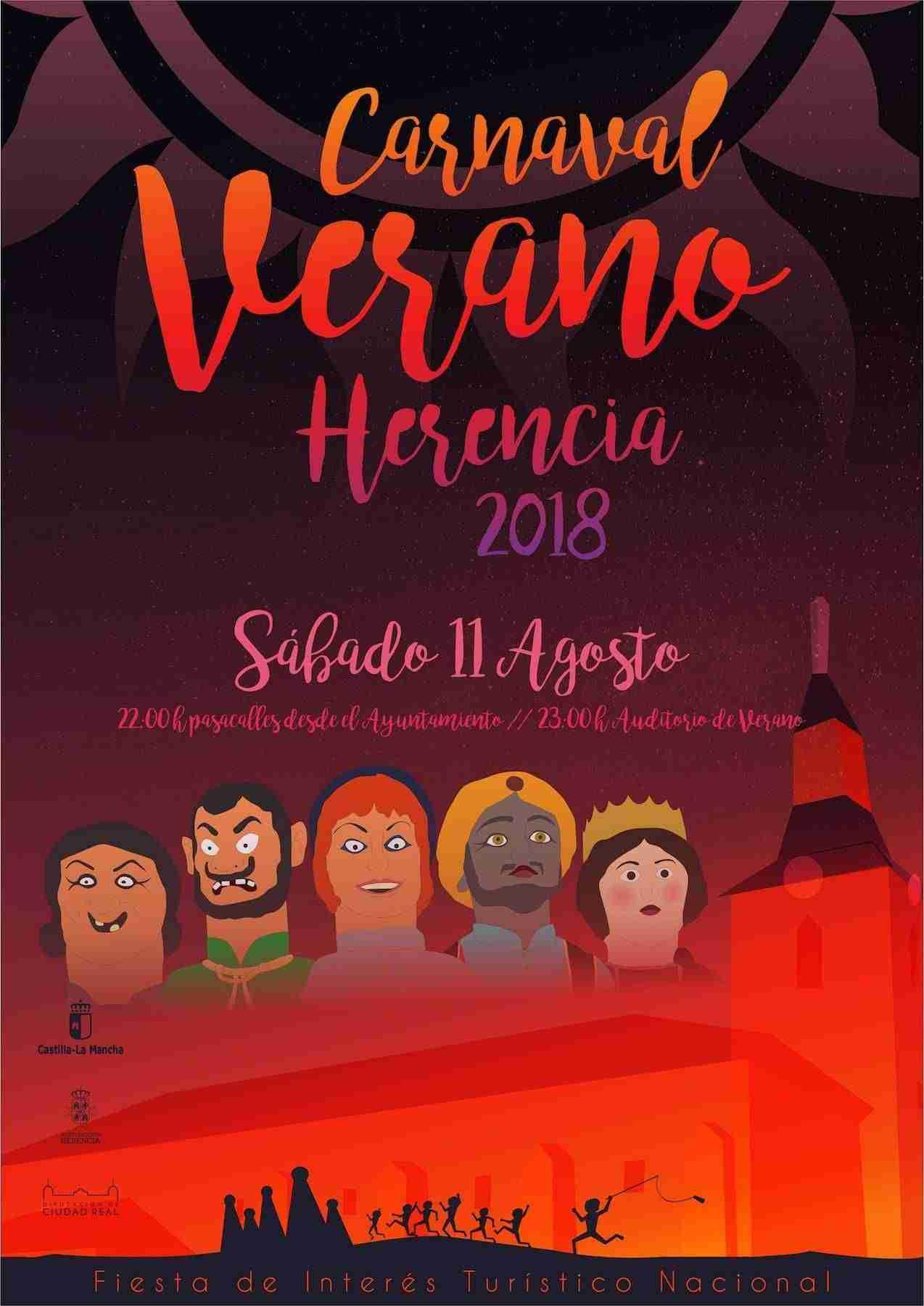 El Carnaval de Verano de Herencia saca la máscara callejera a la calle 1