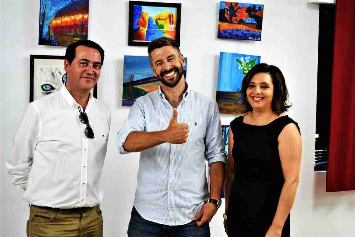 Inaugurada la Exposición de la Escuela Municipal de Pintura en el Centro Cívico 1