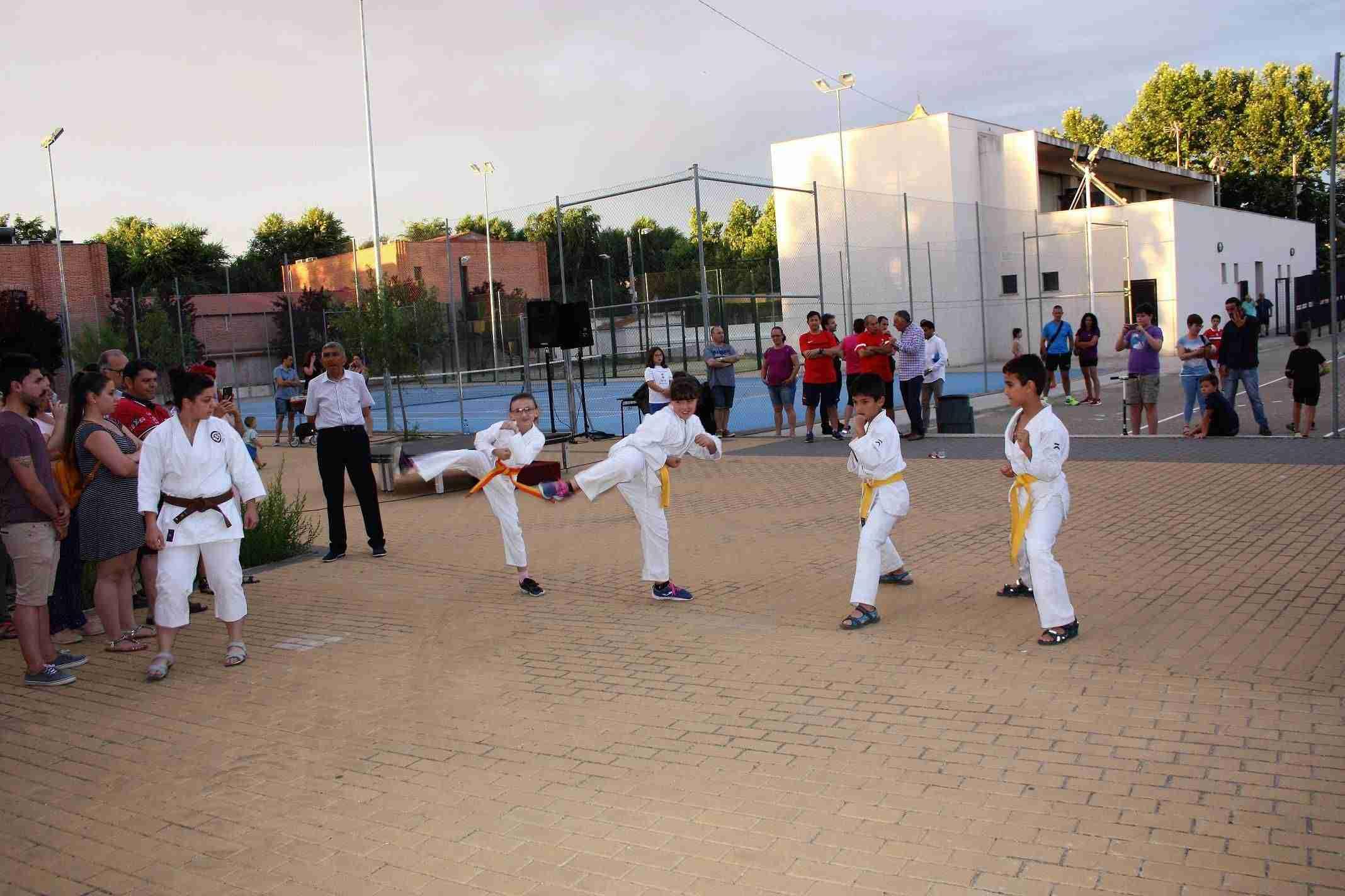 Exhibición de deportes y entrega de diplomas, broche final a las Escuelas Deportivas y la Universidad Popular de Torralba 12