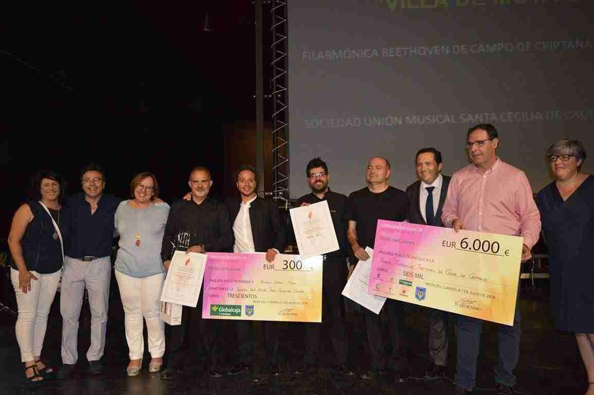 """Filarmónica Beethoven se lleva el 1º Premio en el V Certamen de Bandas de Música """"Villa de Mota del Cuervo"""" 3"""