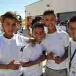 llegada menores saharauis ciudad real 2 150x150 - Solidaridad entre los pueblos en la recepción de los menores saharauis que vienen gracias a la Diputación