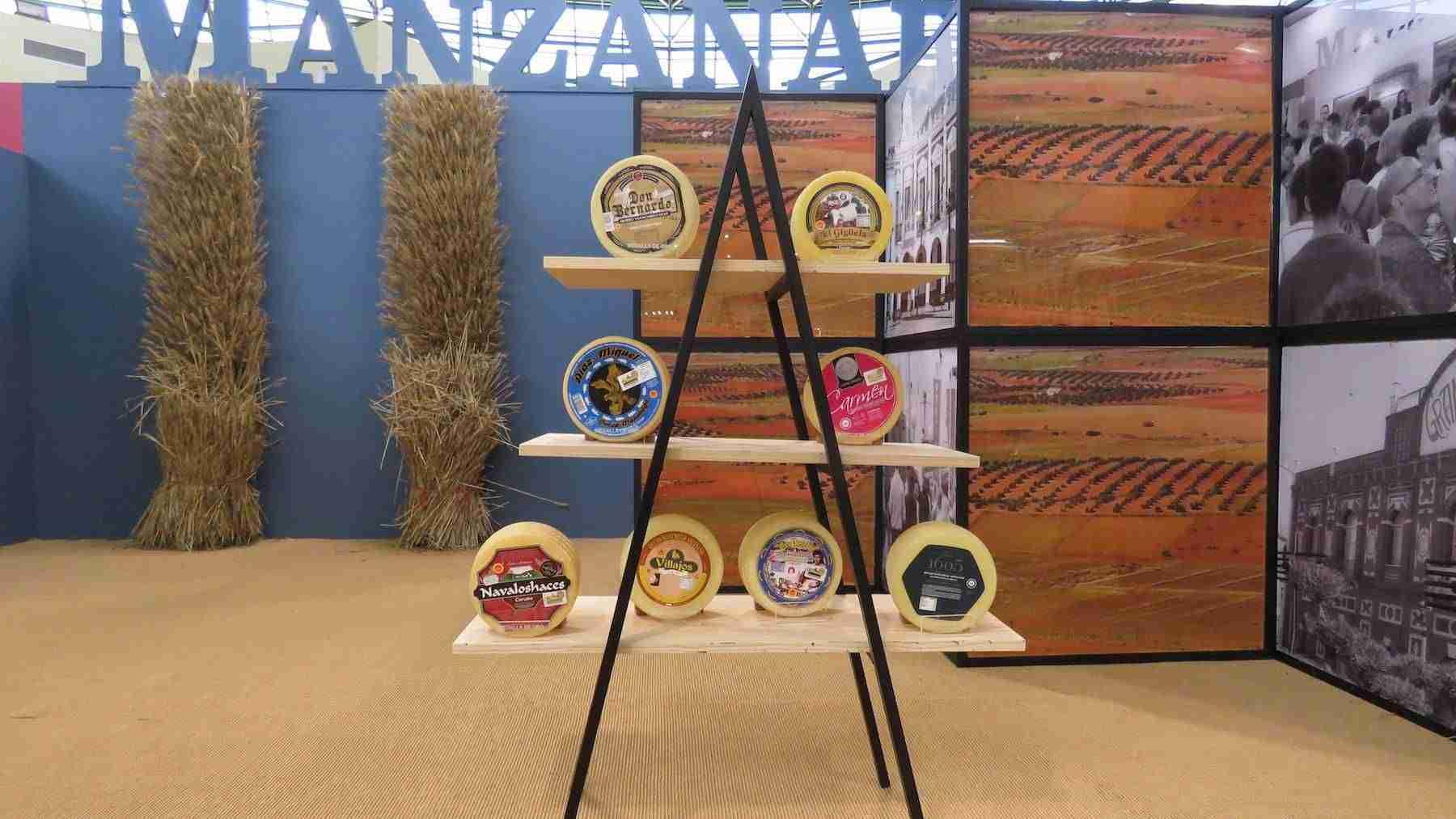 Los quesos manchegos premiados en Fercam, los mejores entre los mejores 3
