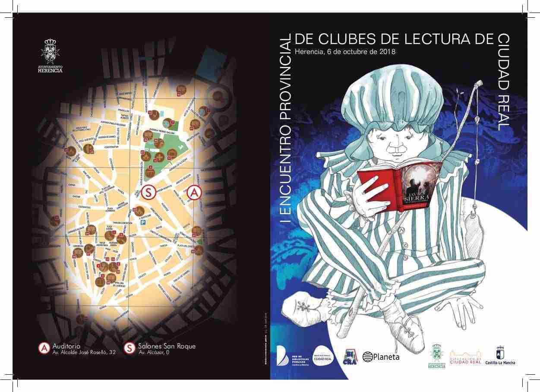 Herencia acogerá el I Encuentro Provincial de Clubes de Lectura con la visita del escritor Javier Sierra 2