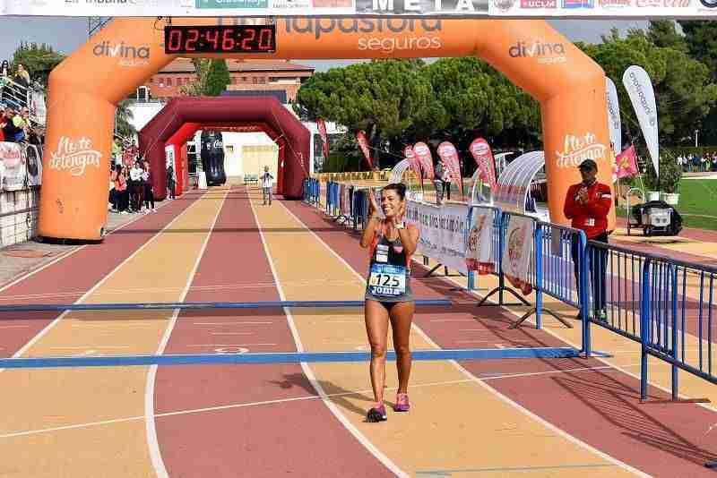 Gemma Arenas y Laureano García, campeones de la 23 Quixote Maratón y 36 Campeonato de España Máster 3