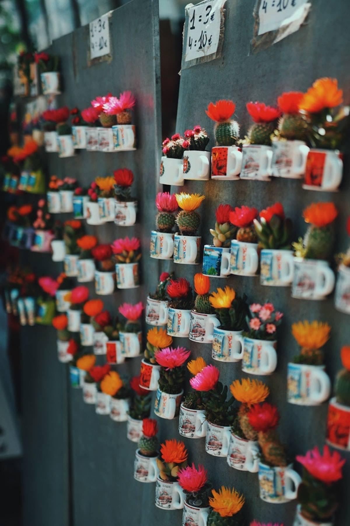 Imanes para decorar la nevera