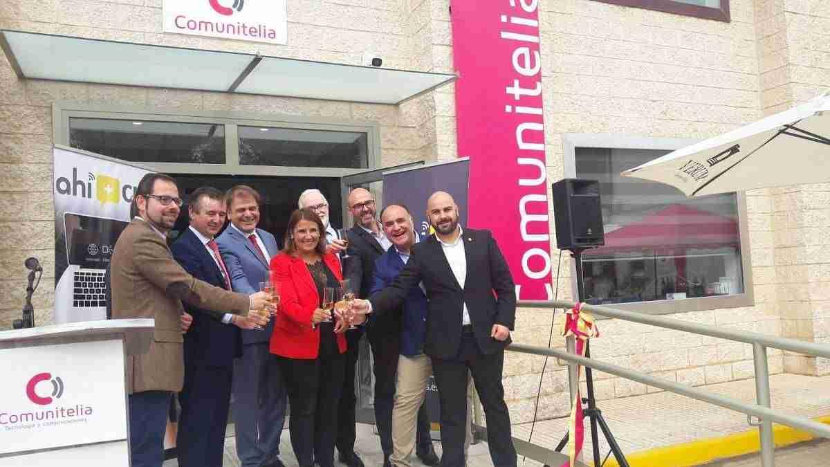 60.000 hogares castellano-manchegos disfrutarán de la fibra de Ahí+ Comunitelia 3