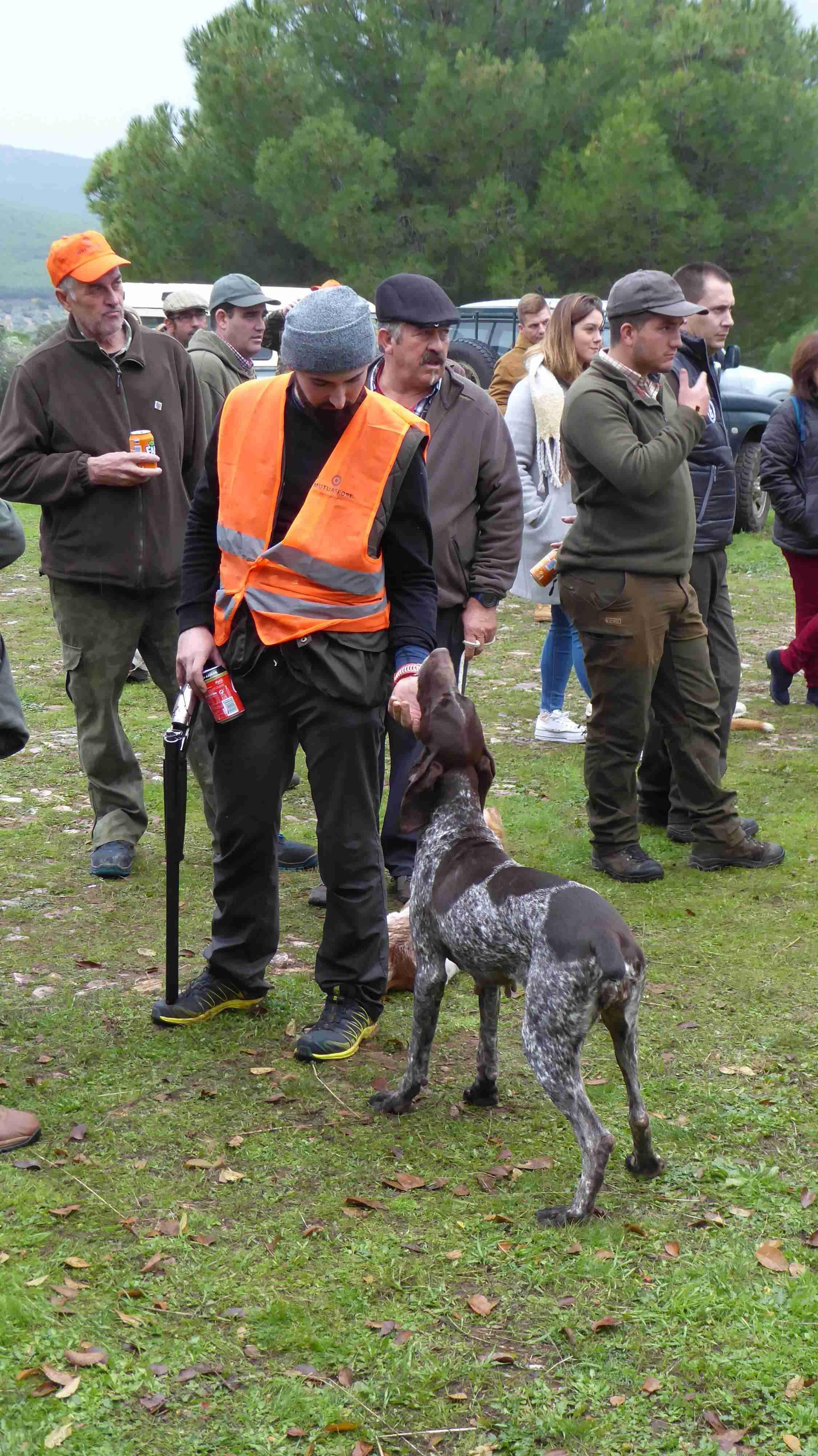 César Muñoz, campeón provincial de caza menor con perro en Ciudad Real 1