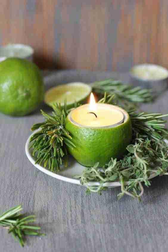 decorar la mesa de Navidad IX