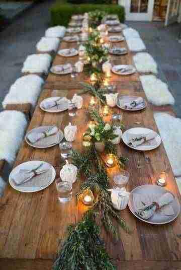 decorar la mesa en Navidad IV