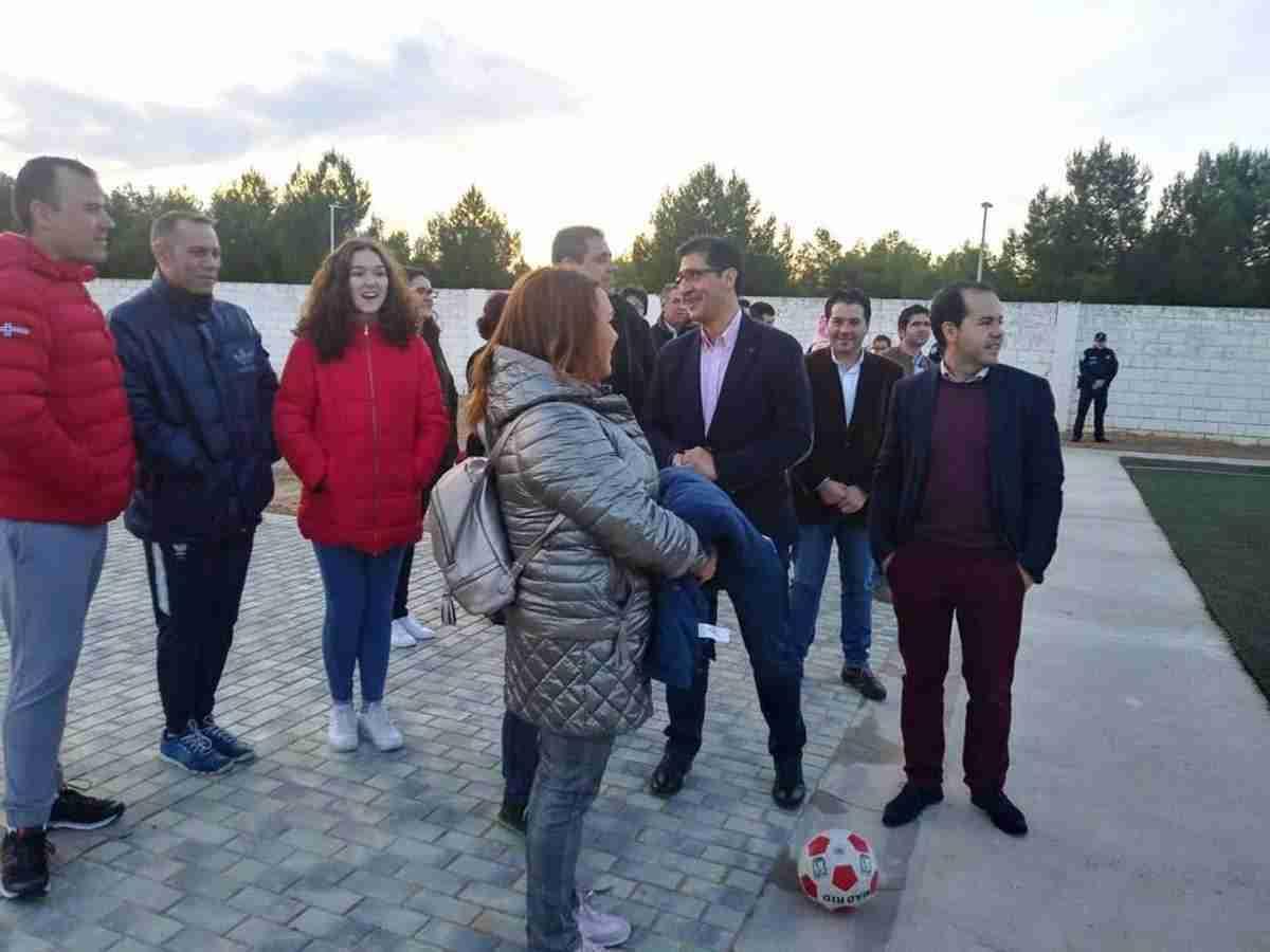 Diputación de Ciudad Real equipa y amplia el campo de fútbol de Herencia 10