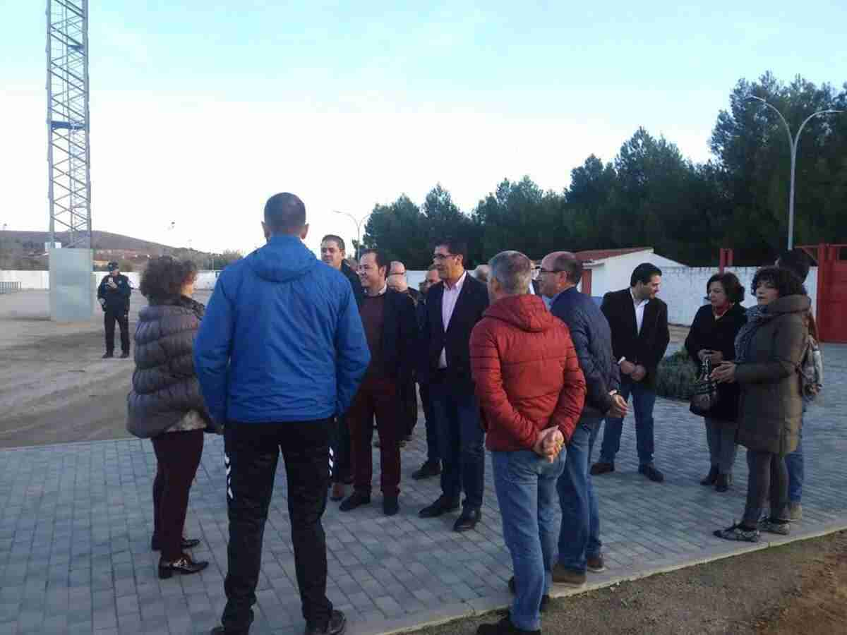 Diputación de Ciudad Real equipa y amplia el campo de fútbol de Herencia 13