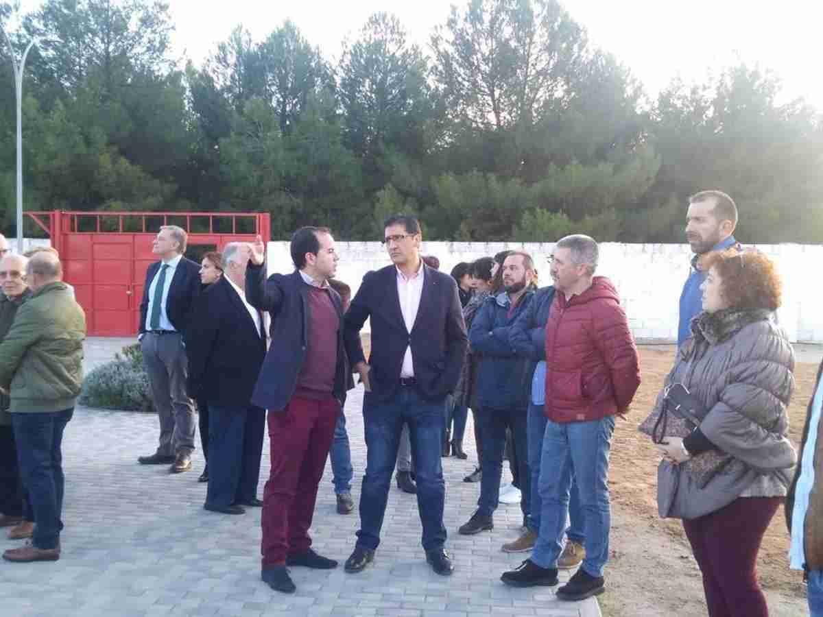 Diputación de Ciudad Real equipa y amplia el campo de fútbol de Herencia 14