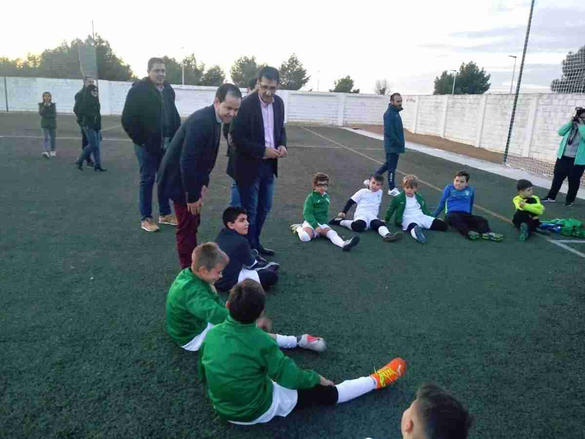 Diputación de Ciudad Real equipa y amplia el campo de fútbol de Herencia 2