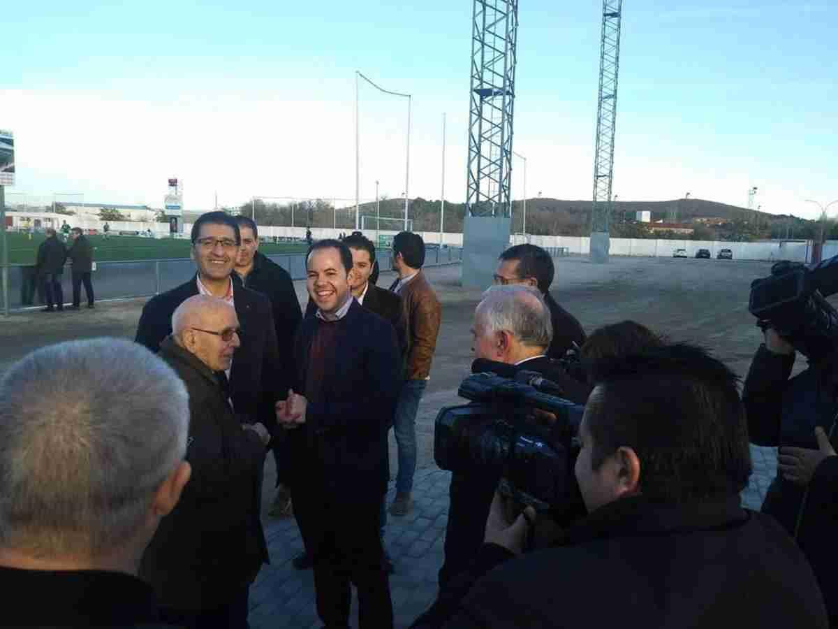 Diputación de Ciudad Real equipa y amplia el campo de fútbol de Herencia 6