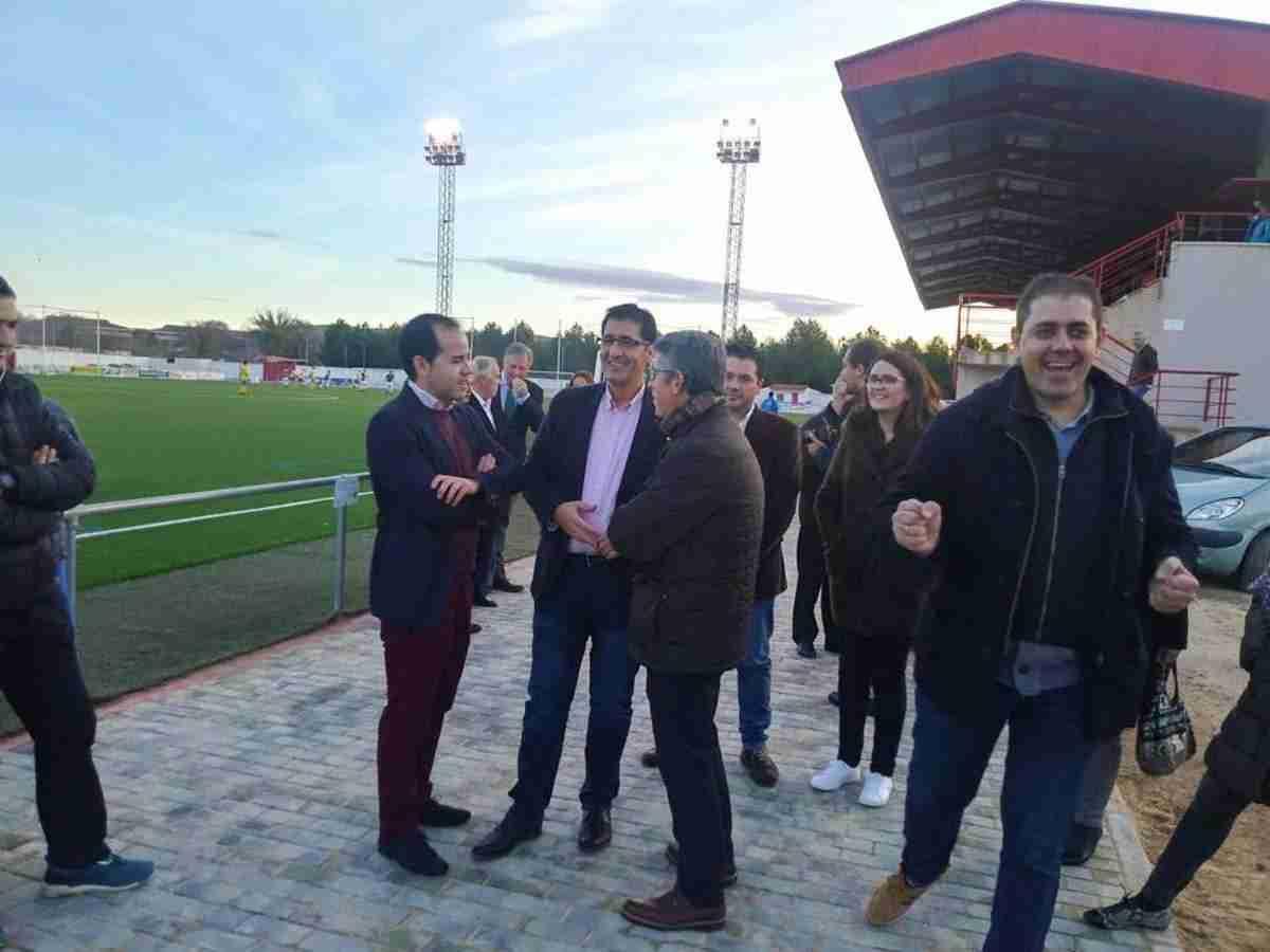 Diputación de Ciudad Real equipa y amplia el campo de fútbol de Herencia 8